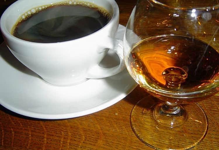 Кофе с коньяком по пошаговому рецепту с фото