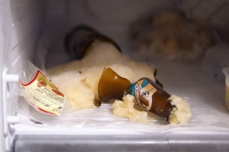 При какой температуре обычно замерзает пиво