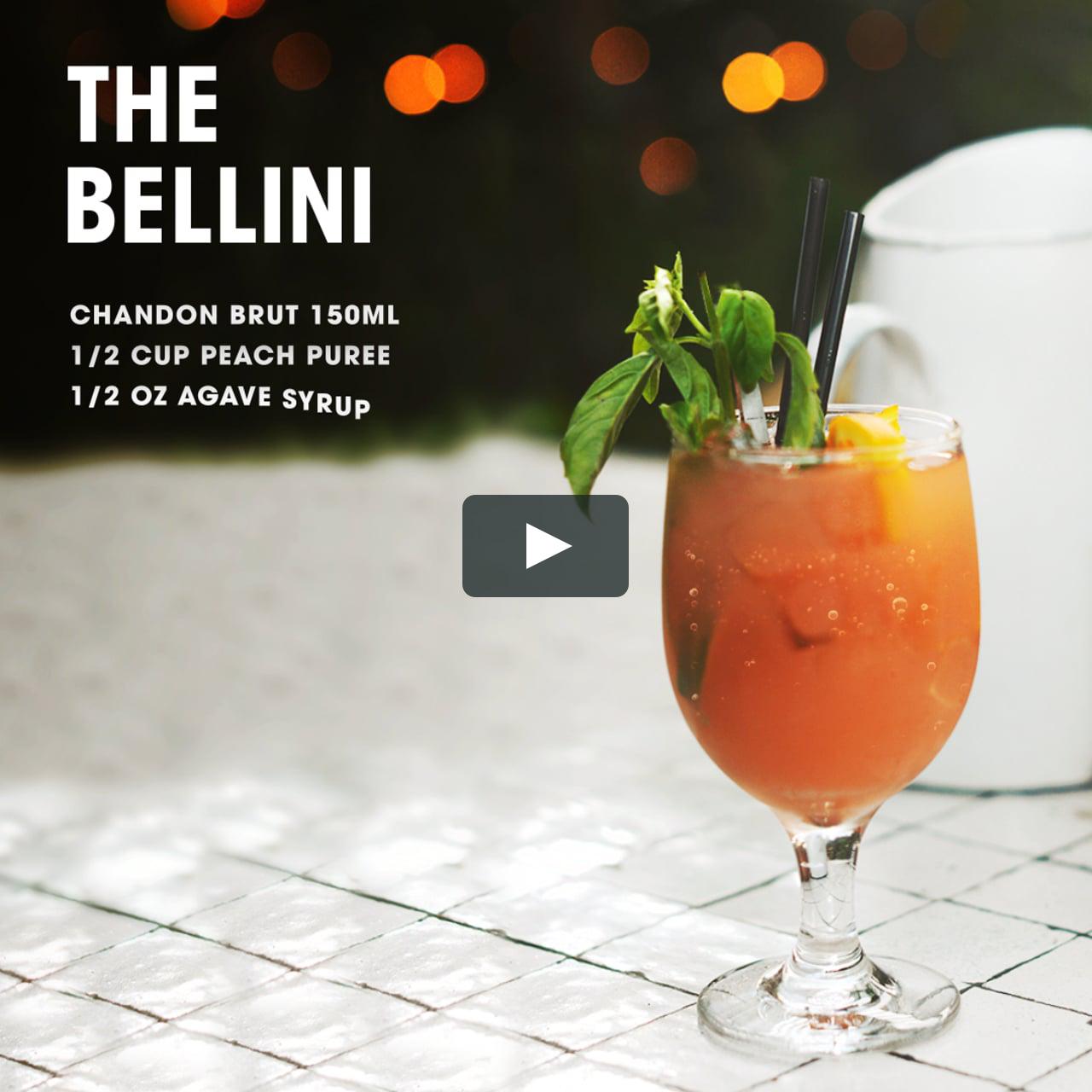 Как сделать коктейль беллини в домашних условиях