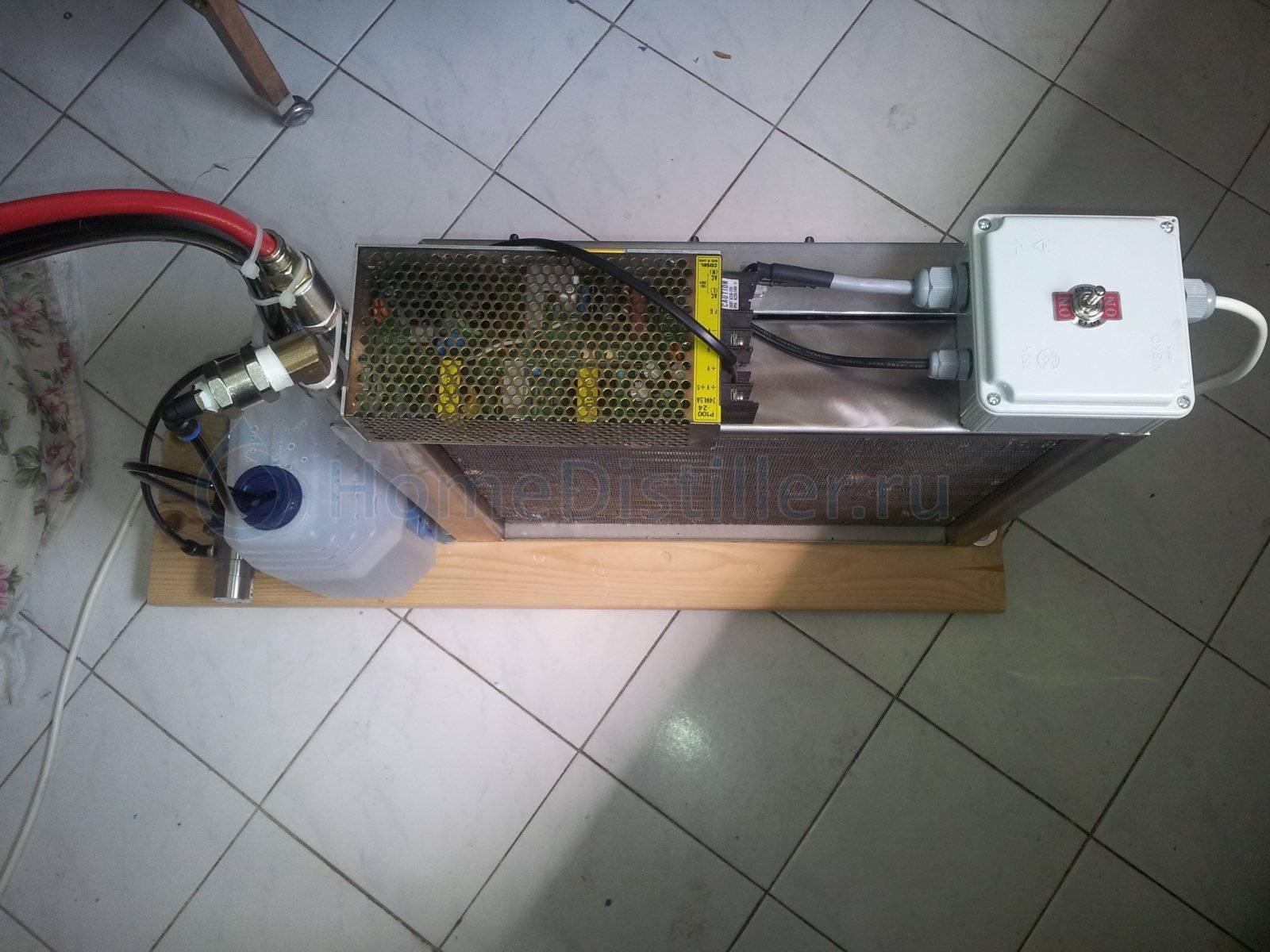 Как сделать холодильник для самогонного аппарата своими руками