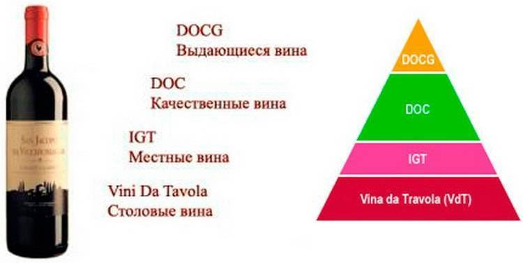 Вино: марки, производители, классификация