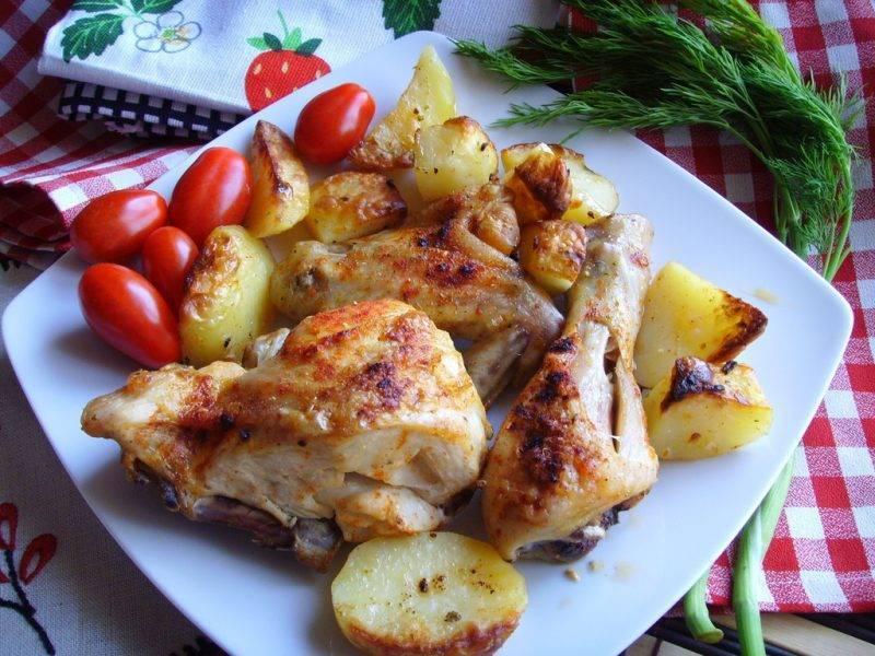 Курица в вине (красном и белом): рецепты тушения и запекания