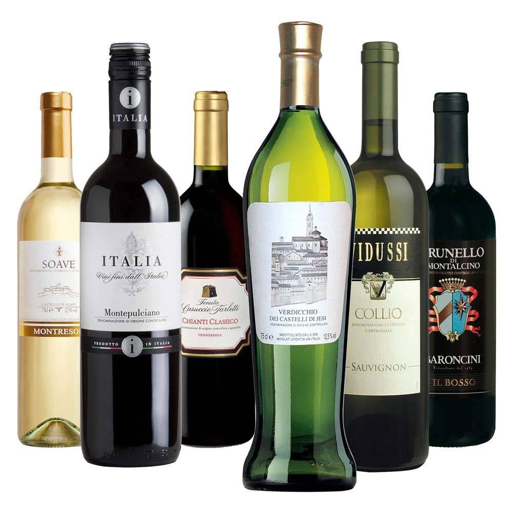 Итальянские вина: история, классификация, виноградники, лучшие виды марки, регионы и сорта