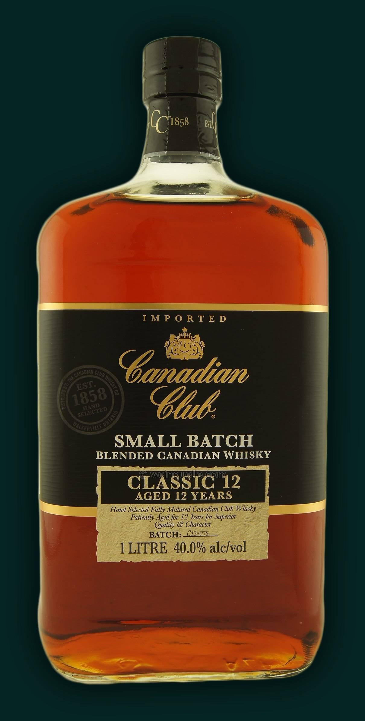 Обзор канадских марок виски