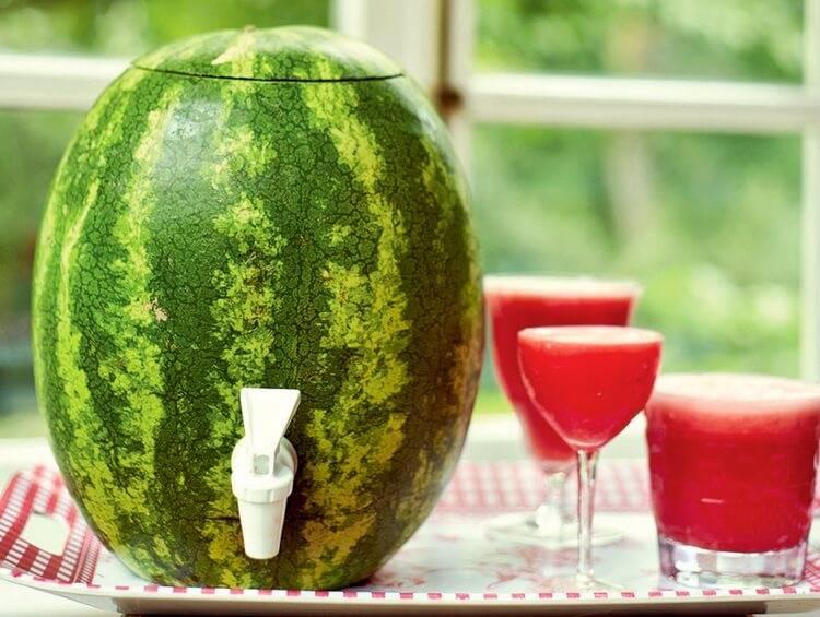 Как правильно накачать арбуз водкой