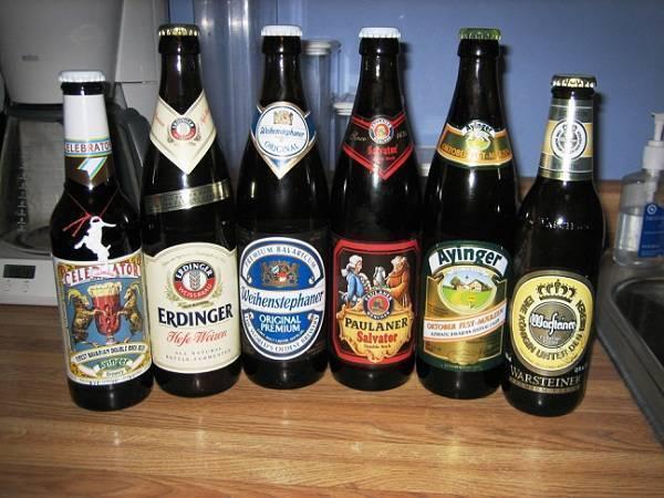 Сорта, марки и производители немецкого пива. пивной фестиваль в германии