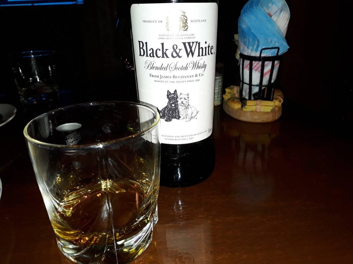 Виски блэк энд уайт