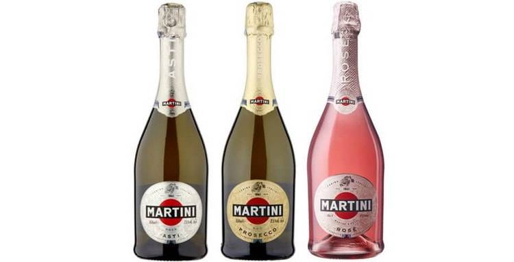 Шампанское мартини асти: игристое вино, описание и отзывы