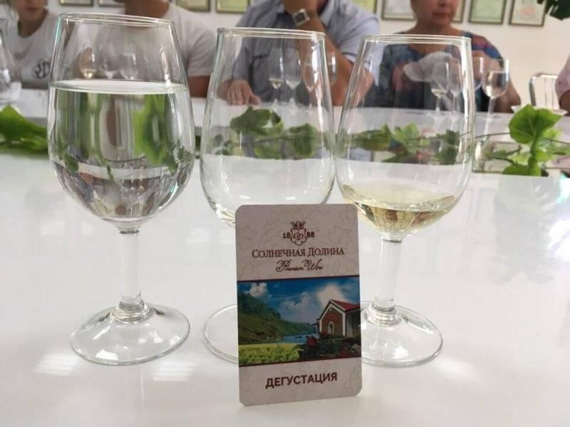 Винзавод «солнечная долина» - для настоящих ценителей винного туризма