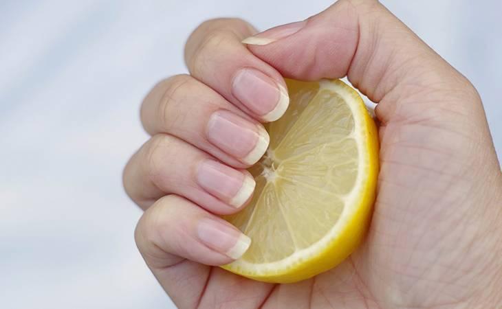 Как отбелить желтые ногти после лака