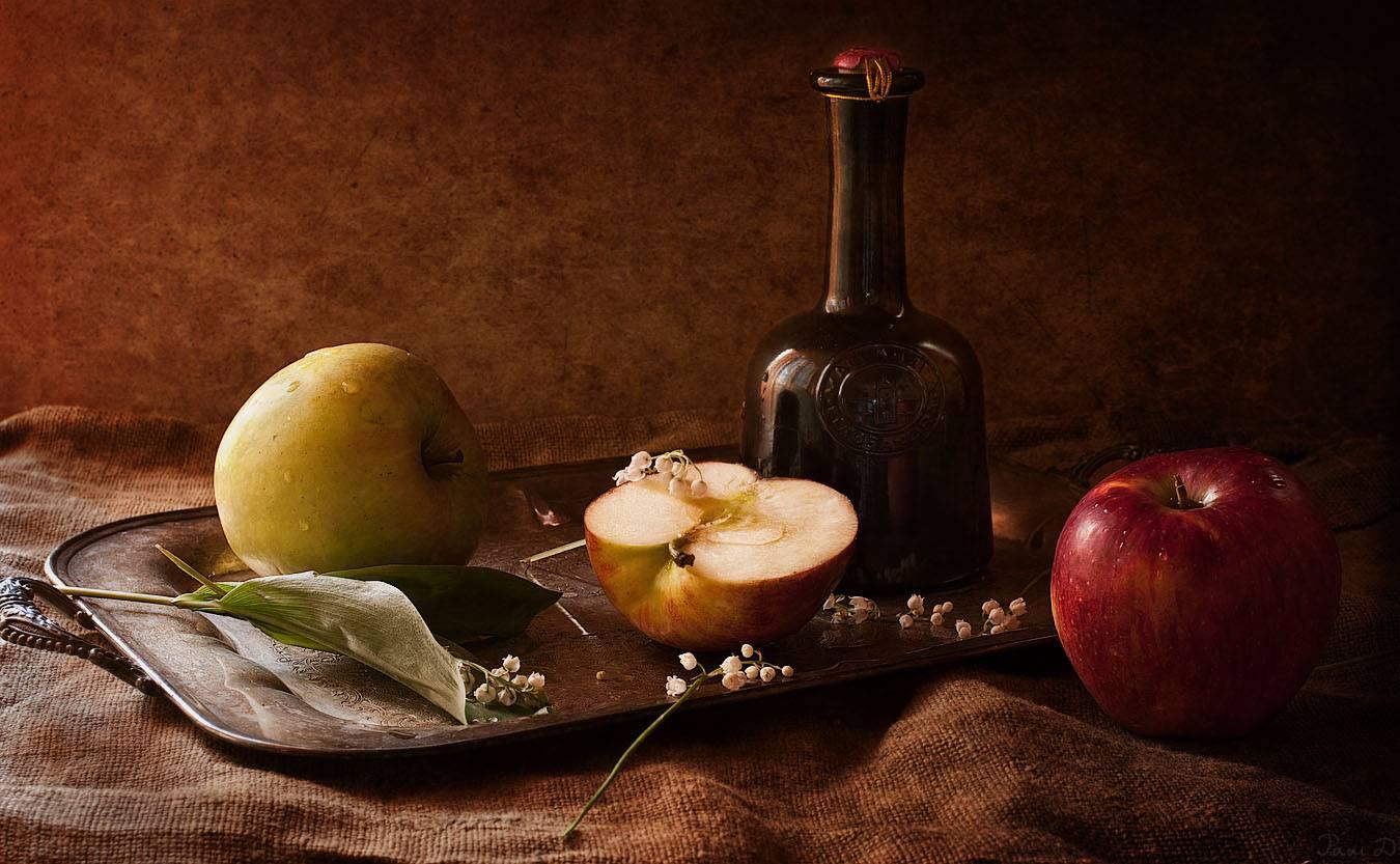 Делаем кальвадос в домашних условиях из яблок своими руками