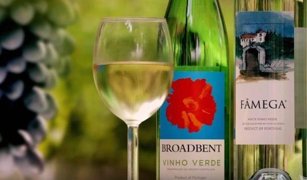 """зелёное вино"" португалии"