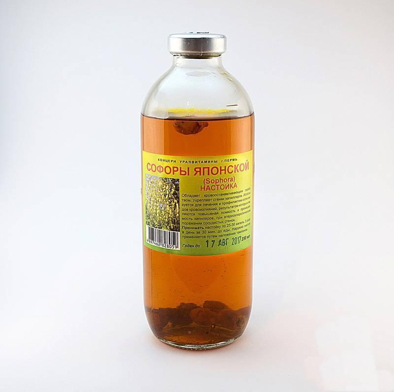 Софора японская: лечебные свойства ипротивопоказания, рецепты лекарств изплодов ибутонов, применение вгинекологии, онкологии, польза для сосудов ижкт