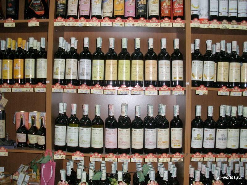 Где в крыму лучше купить вино? фирменные винные магазины в крыму
