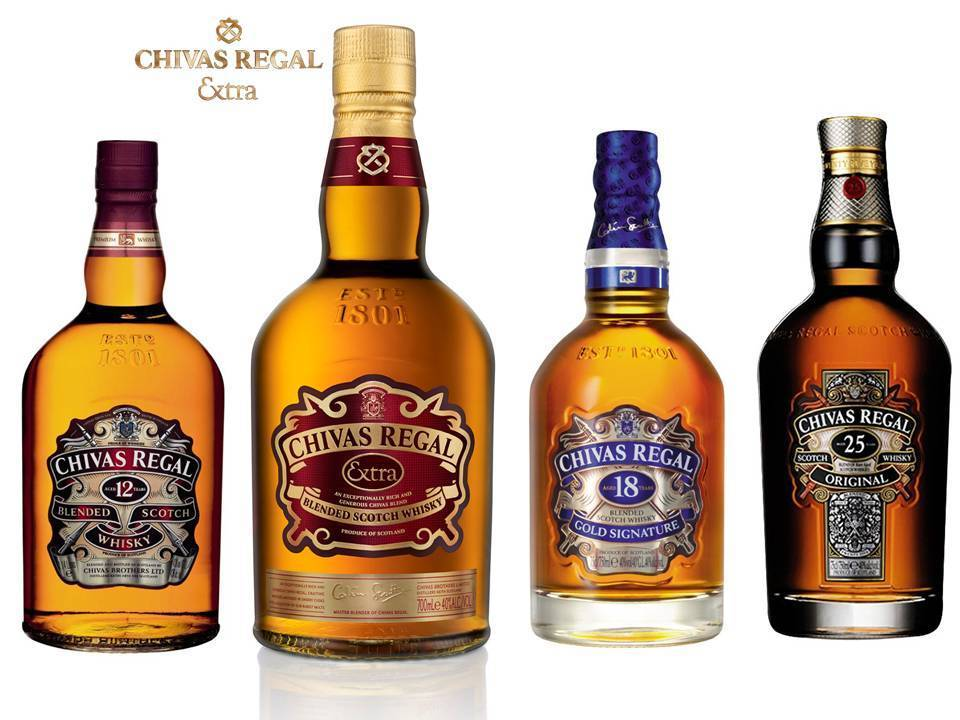 Виски chivas regal (чивас ригал) – описание и виды марки
