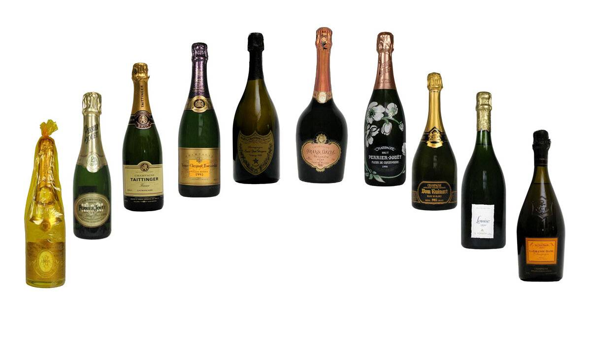 Самое дорогое шампанское в мире. самое дорогое шампанское в россии