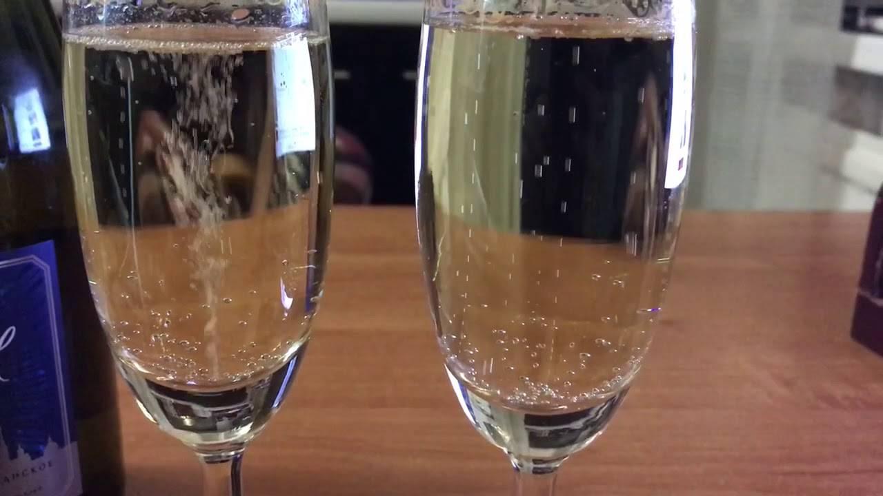Как отличить настоящее шампанское
