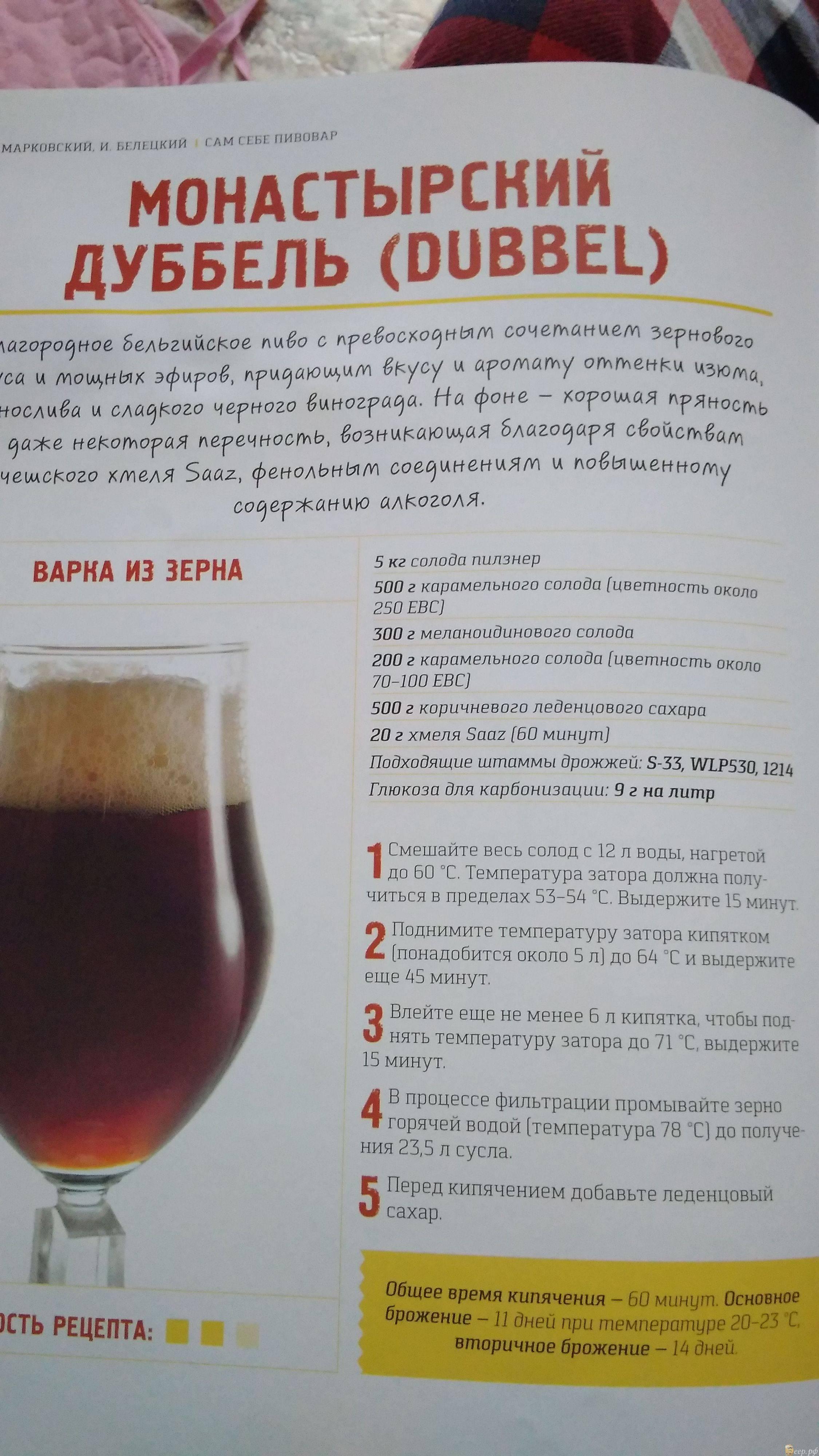 Пиво из хмеляискусство самогоноварения