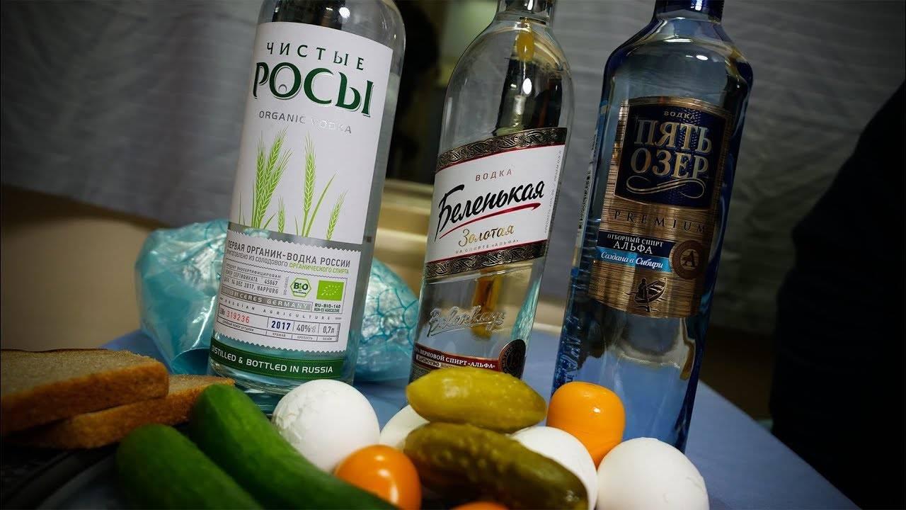 Водка из спирта в домашних условиях рецепт