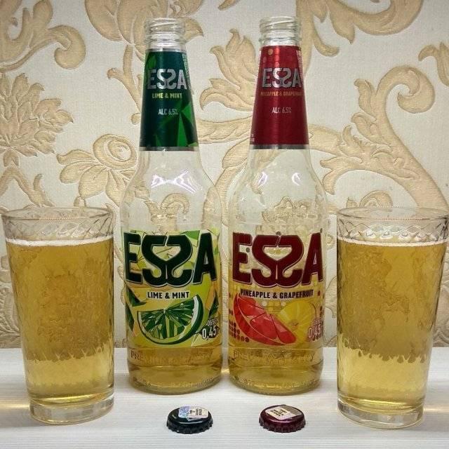 Essa (эсса) пиво: сколько градусов, крепость, состав, вкусы, калорийность, сколько стоит женский алкогольный напиток