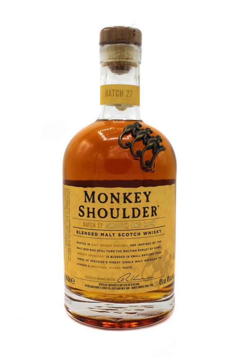 Виски monkey shoulder: характеристики и особенности