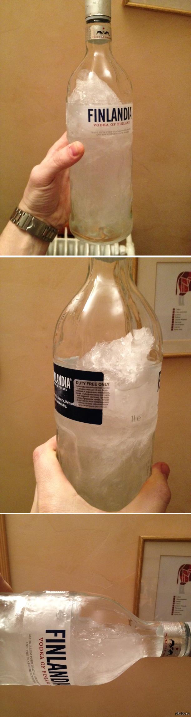 Замерзает ли коньяк в морозилке