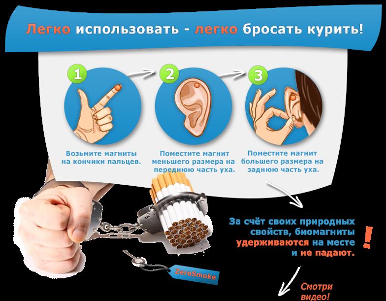 Zerosmoke — магниты против курения