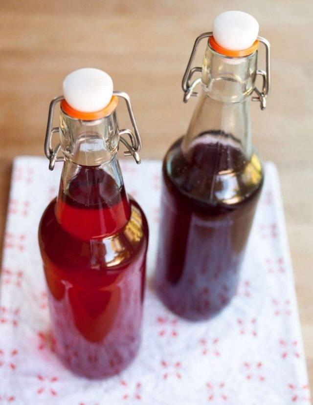 Рецепт настойки из красной смородины на спирту