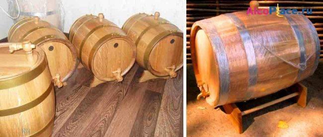 Как подготовит дубовую бочку к использованию самогона