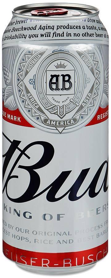 Пиво бад: безалкогольный и другие виды bud, производитель, состав, крепость, сколько градусов