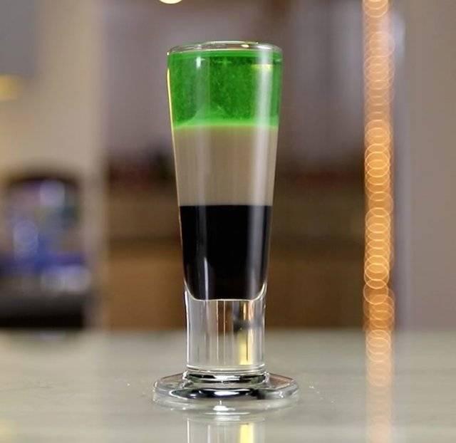 Рецепт коктейля зеленая фея