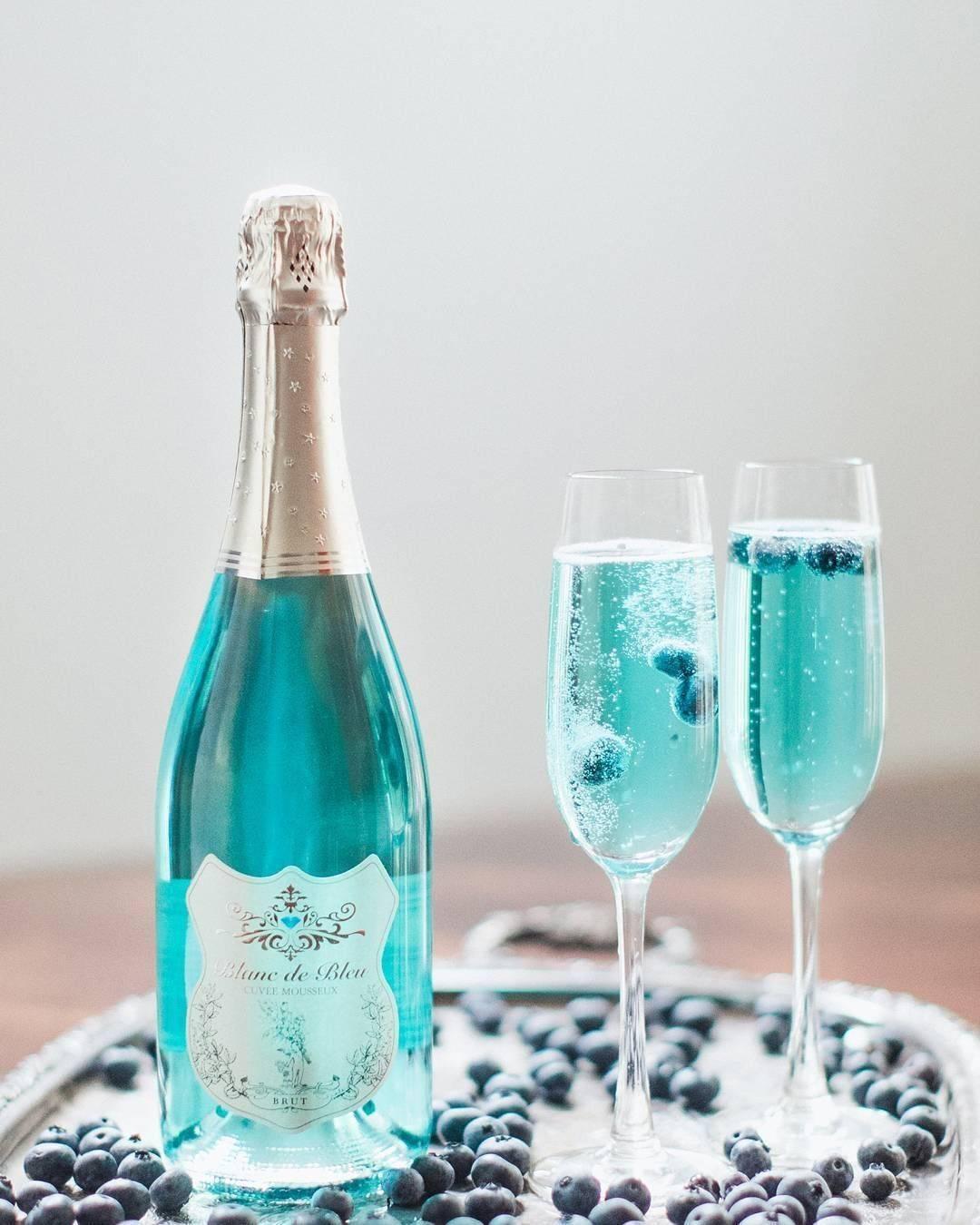 Новинка от виноделов: испанское виноградное голубое вино