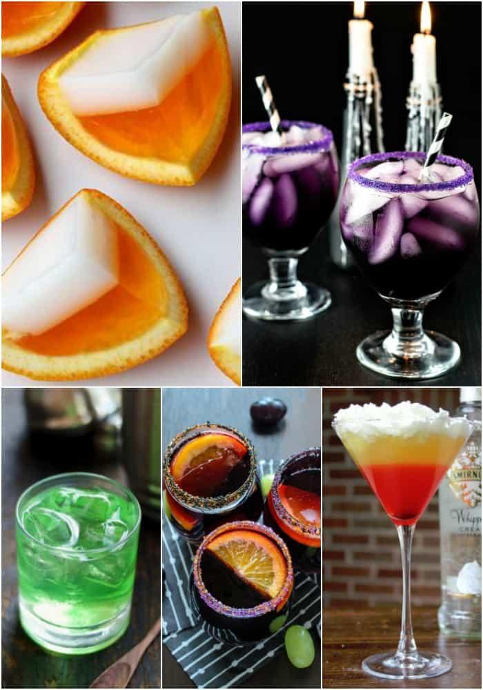 Коктейли на хэллоуин алкогольные дома. алкогольные напитки на хэллоуин: идеи и примеры коктейлей