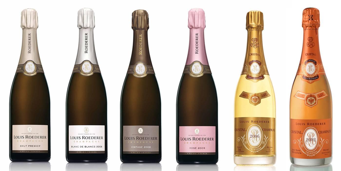 Знаменитое французское шампанское луи родерер