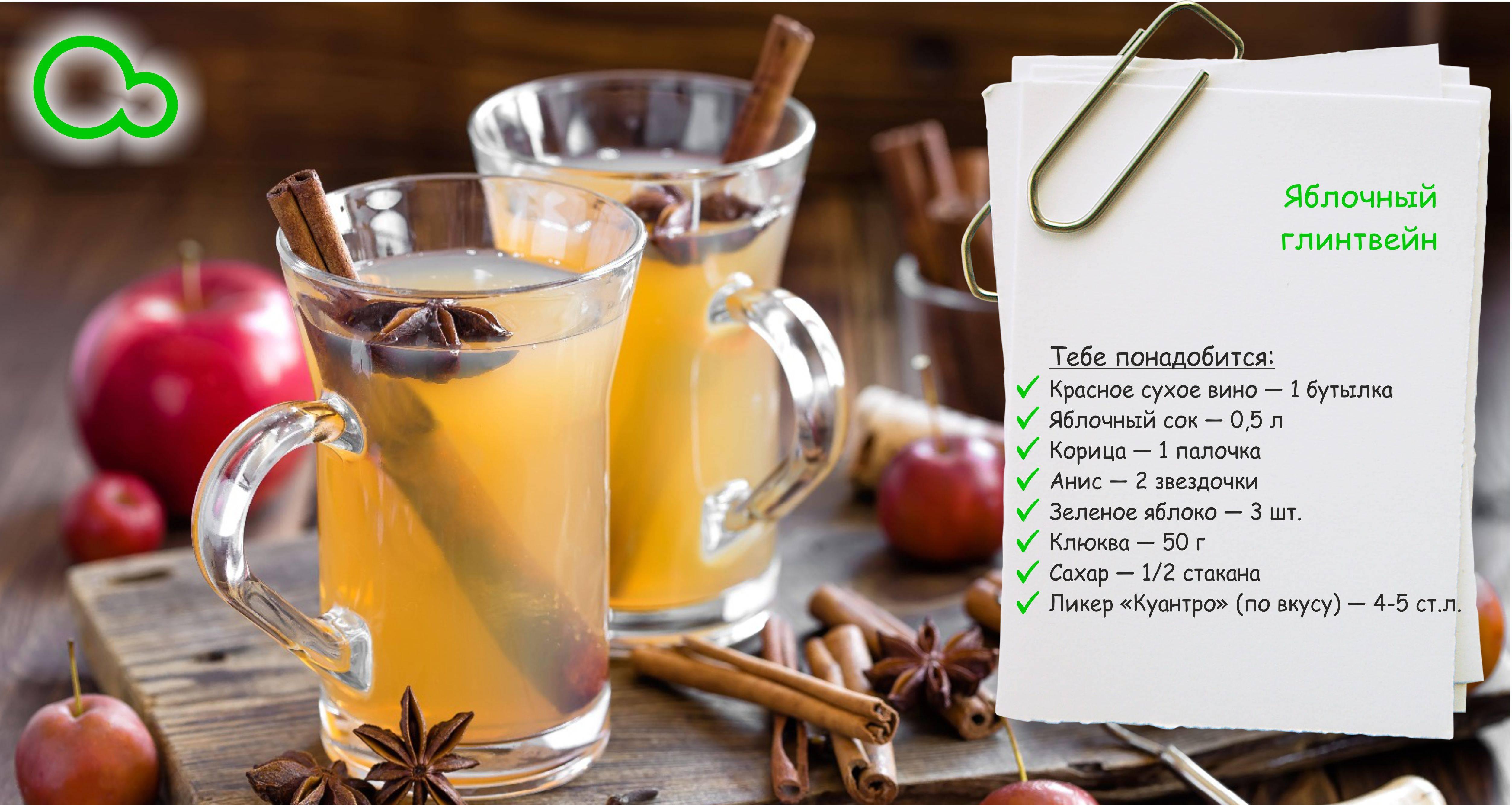 Рецепты безалкогольного глинтвейна в домашних условиях