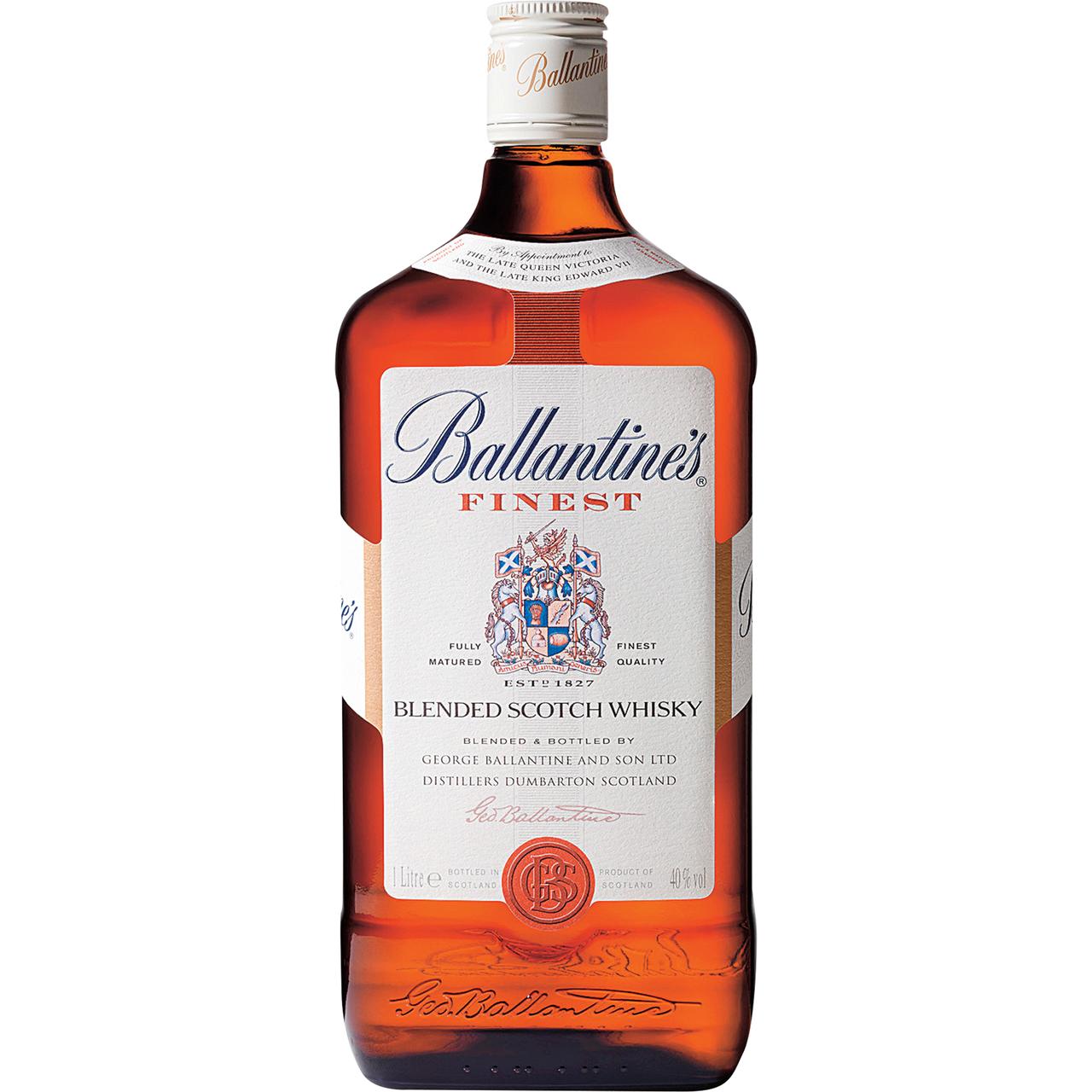 Виски баллантайнс: от finest до 30 year old
