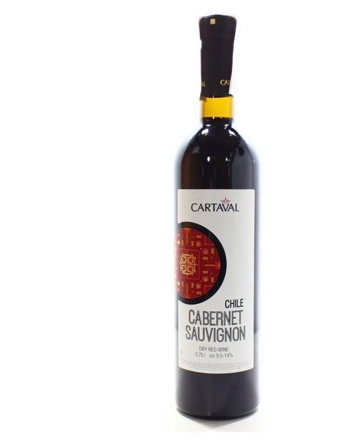 Красные вина. каберне совиньон