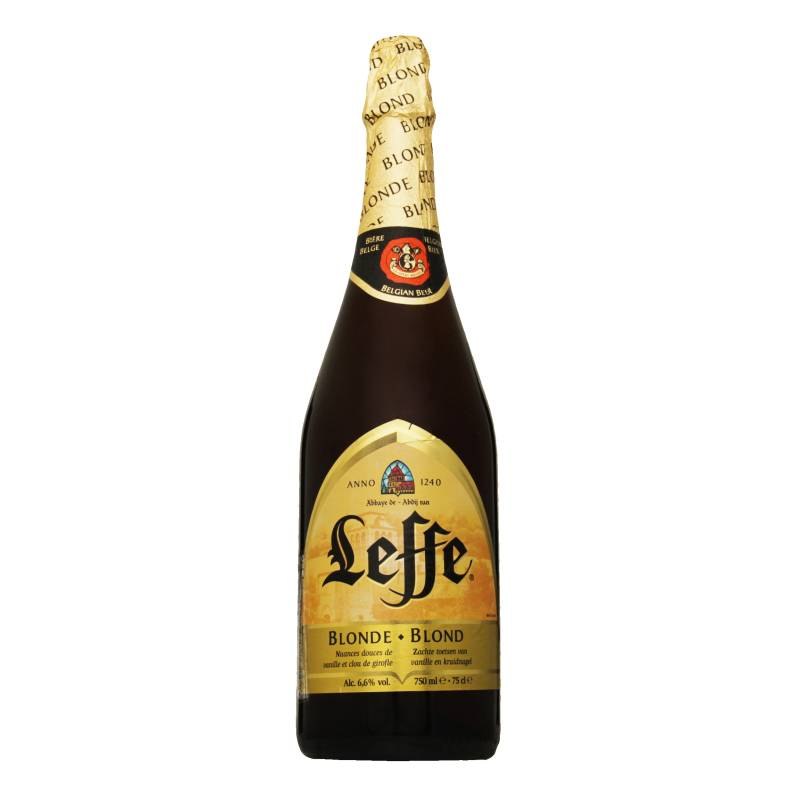 Всем известное бельгийское пиво leffe