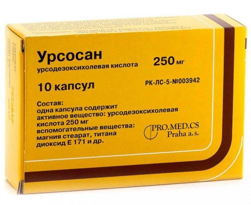 Урсосан при панкреатите предотвращает воспаление в клетках поджелудочной