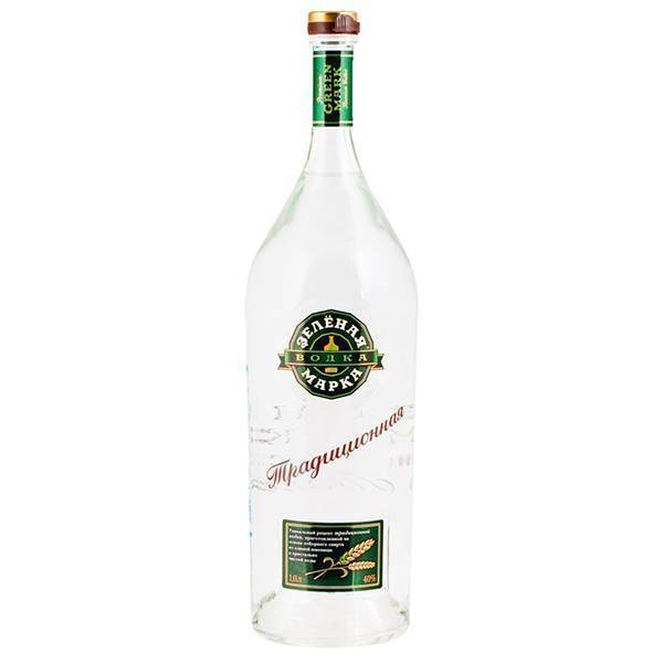 Водка зеленая марка традиционная рецептура