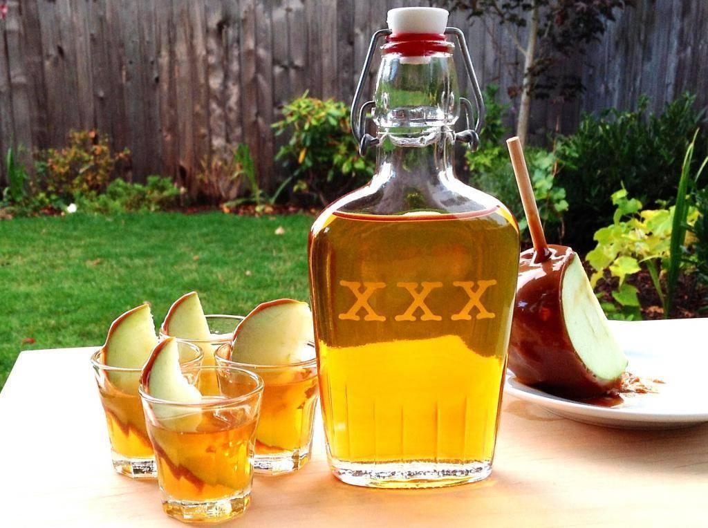 Рецепт яблочной наливки на водке | выпейменя.рф