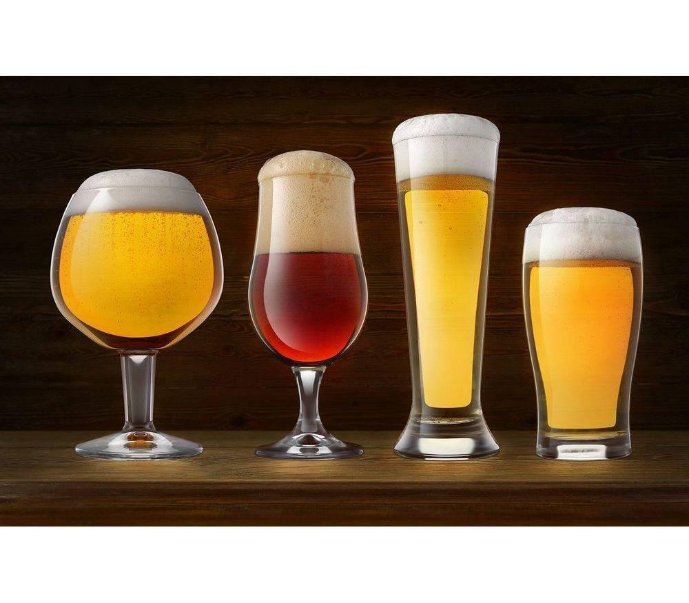 8 оригинальных бокалов для пива