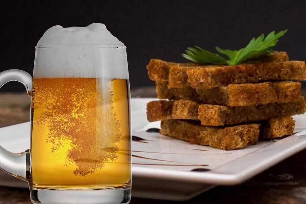 Как пожарить хлеб к пиву с чесноком. чесночные гренки из черного хлеба рецепт