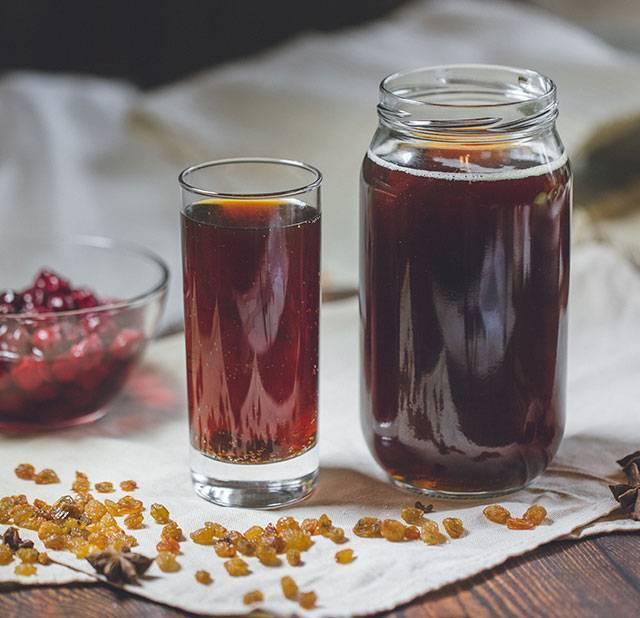 Квас из березового сока с черным изюмом. берёзовый квас – вкусно, быстро и ничего сложного! готовим квас из берёзового сока с сухофруктами, вишней и даже с кофе