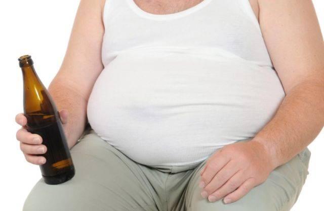 Как убрать пивной живот у мужчин?