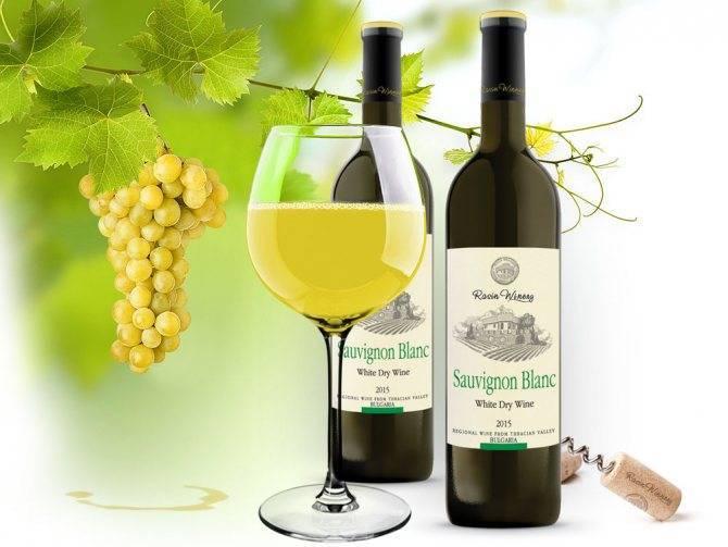 Описан сорт винограда совиньон блан, представлены производимые вина, их вкусовые качества и позиция на рынке