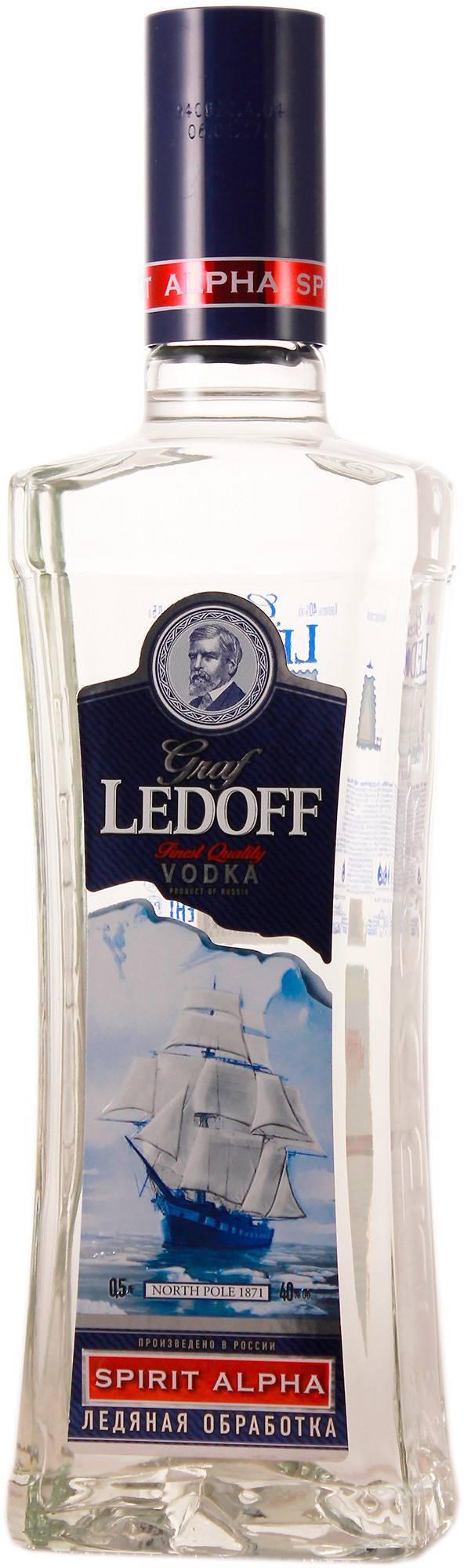 Водка «граф ледофф» (graf ledoff): краткое описание, состав, отзывы