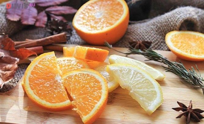 Апельсиновый глинтвейн рецепт