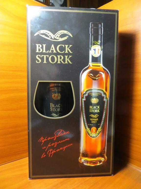 Коньяк черный аист: история создания, вкусовые качества и отзывы