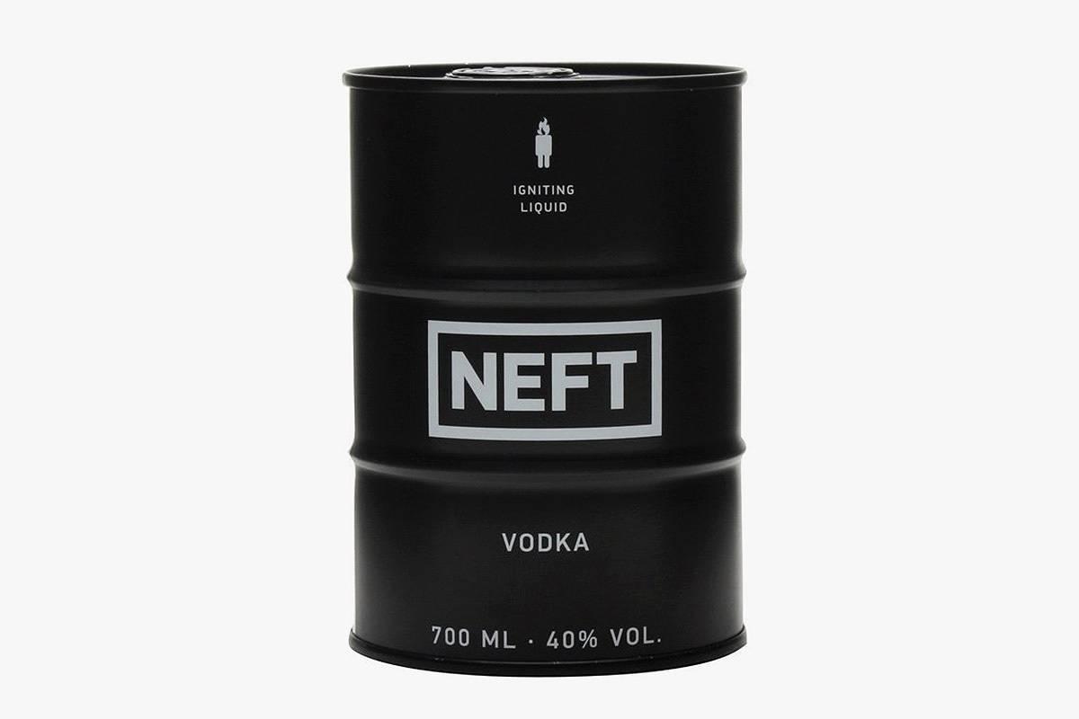 Водка «нефть» (neft) как отличить подделку от оригинала